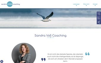 Coaching Website mit Typo3